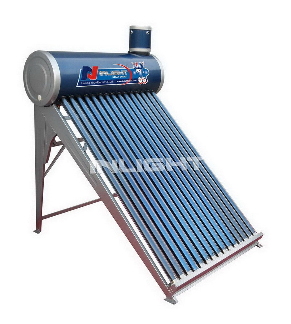 Unpressurized Batch Solar Water Heater