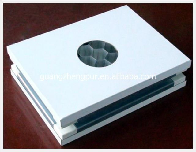 Insulated Handmade aluminum honeycomb core sandwich panel for wall and floor