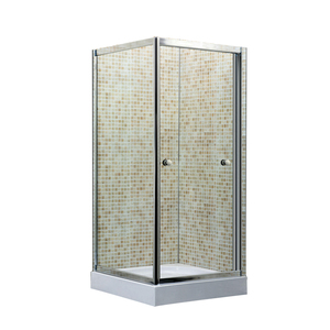 Bathroom folding bathtub shower door,inner sliding shower room
