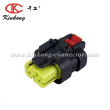 KINKONG waterproof connector ampseal 3 hole plug housing with terminal seal 776429-3