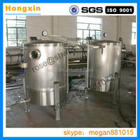 Multifunctionaloil remove machine for fried food/Double chamber vacuum food frying machine