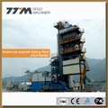 stationary asphalt machine, asphalt mixing plant 80t/h