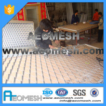 Made in Guangzhou Best quality expanded metal mesh price (factory,Anping,China)