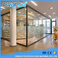 Provide the high quality of toughened glass shower glass partition unlimited