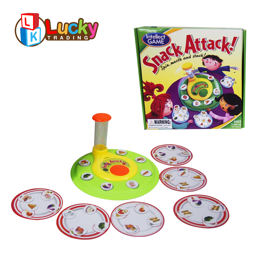 popular snack attack matching intelligent board games kids toys learning from china
