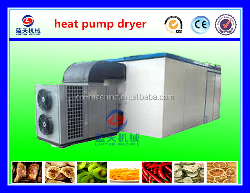 New type energy saving 75% industrial food dehydrator /fruit and vegetable drying machine /hot pepper dehydrator