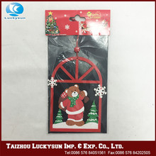 2015 competitive hot product standing santa claus decoration