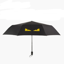 Creative good Christmas gift folding umbrella for sunny or rain