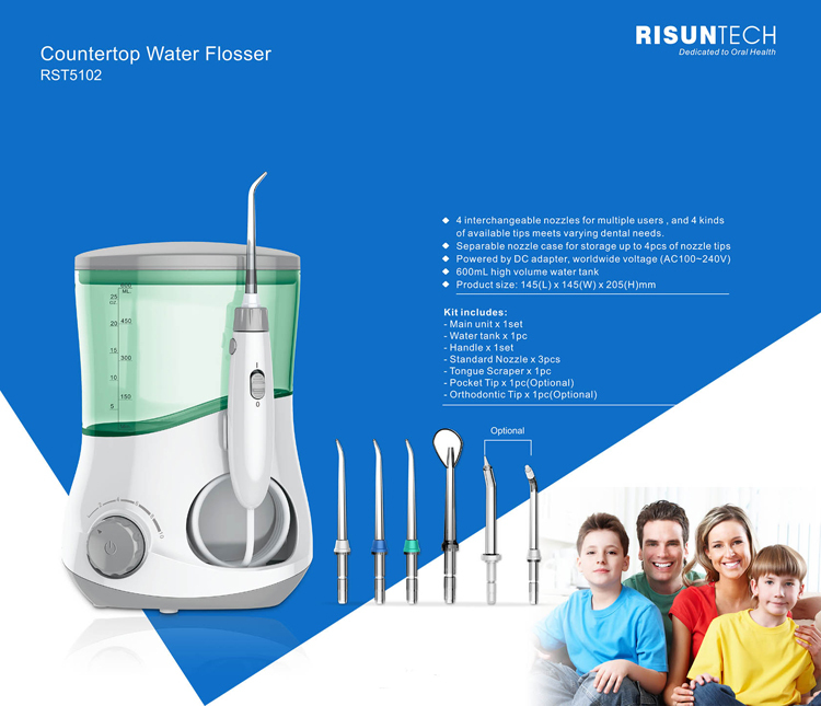 oral care products beauty product water flosser for multiple users buy beauty product water. Black Bedroom Furniture Sets. Home Design Ideas