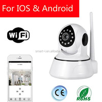 WIFI 4G 360 viewerframe mode IP camera for smart home Security System with night vision