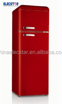 retro refrigerator , 2 doors,208L of different colors,