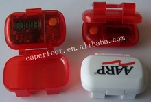 nice mini accurate step counter pedometer with cover