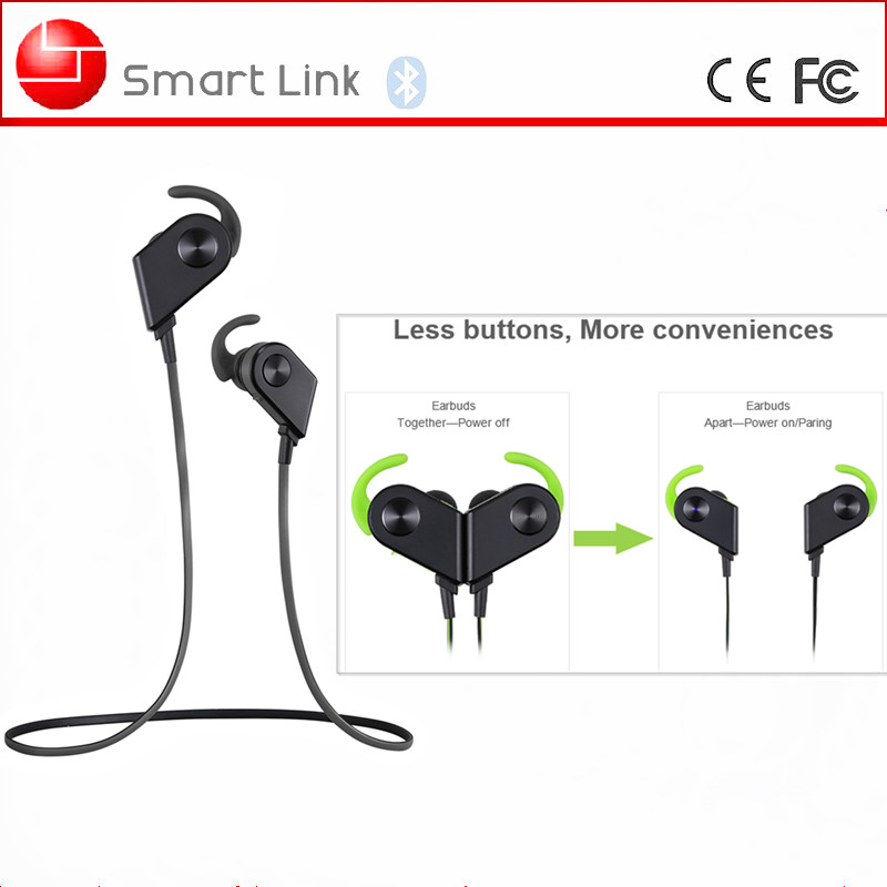 Best Selling For iPhone 6S/ 6/ 5/ 5s/ 5c Fashion Bluetooth Bass Stereo Earbuds
