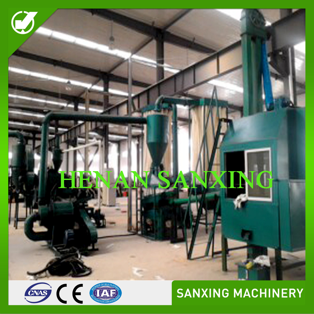 sanxing scrap copper wire recycling equipment