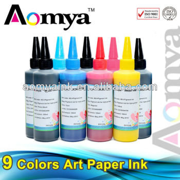 2015 Art paper ink for Epson Stylus Photo R270/R285/R290/R1390/R1400/T50/T60