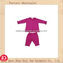 2013 spring and autumn fashional 100% cotton kids clothing 2 piece set