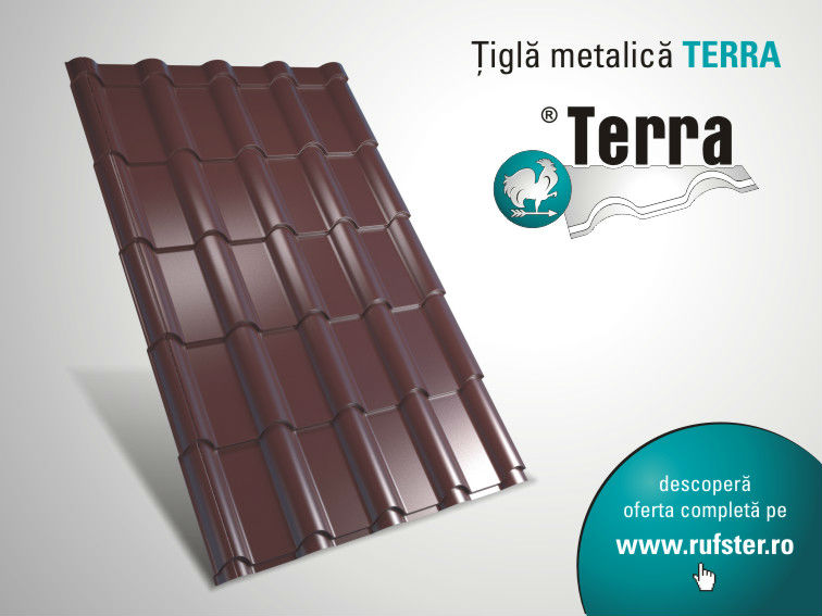 TERRA metal roof tile