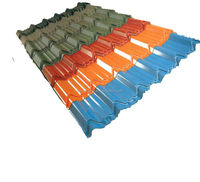 Light weight color zinc aluminium coated steel roofing sheet