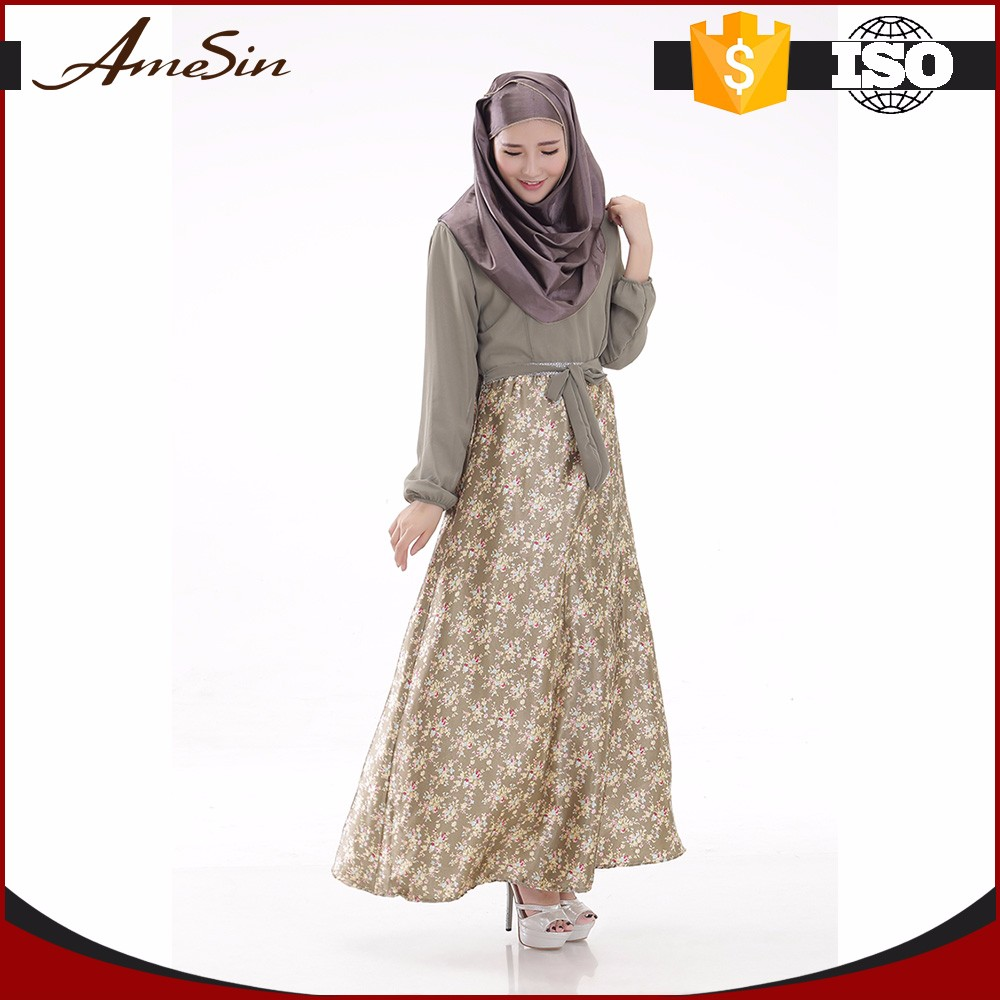 AMESIN trustworthy china supplier muslim abaya pictures
