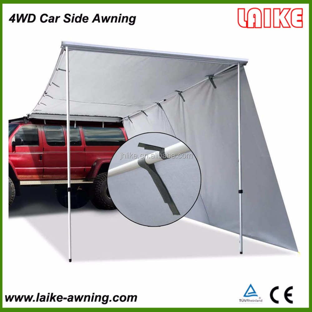 2Mx3M 4WD Car Offroad Roof Top Tent Waterproof Car Side Awning For Camping