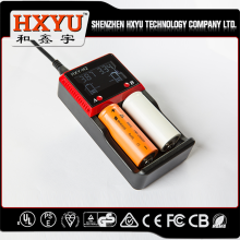 2 slot lcd display smart li-ion nimh/nicd rechargeable 9v 8.4v 7.2v 6v 5.5v battery charger 12v