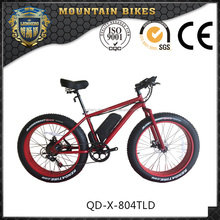 High performance fat tire adult MTB type electric bicycle for sale