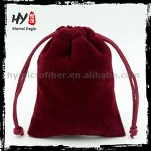 Professional wedding sweet velvet pouch with high quality