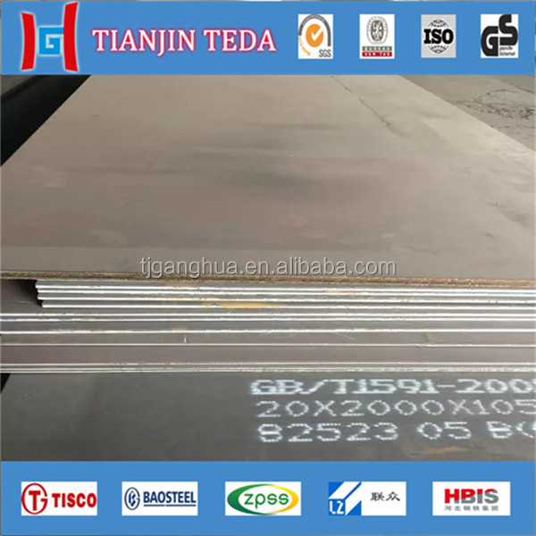 China gold supplier 15mm s275jr Carbon Steel Plate