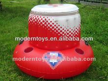 pvc inflatable can holder