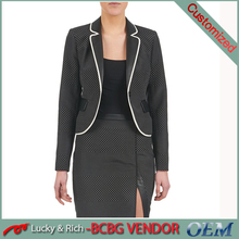 2015 hot sale small fancy latest coat designs for ladies