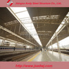 Large Span Prefabricated Steel Roof Frame for Bus/Train Station Design