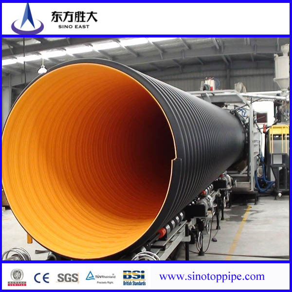 Hdpe Pipe Plastic Large Diameter Steel Corrugated Pipe