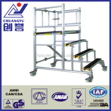 Standard Set Up Step-Smart Scaffolding Aluminium Foldable Mobile Platform