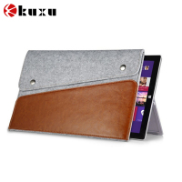Travel felt pouch for iPad mini felt phone case