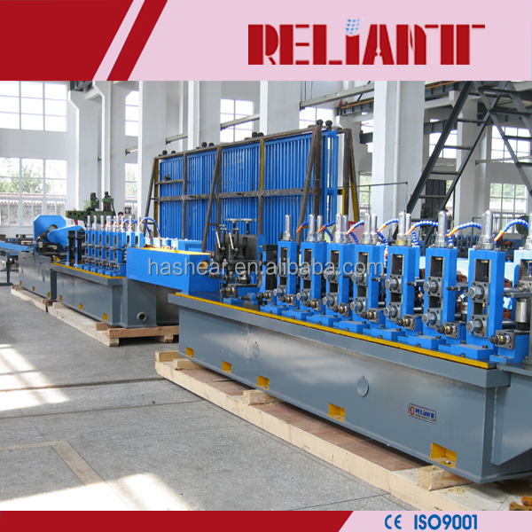 tube high precision and high-frequency straight seam carbon steel tube welding mill machine/ pipe making machine