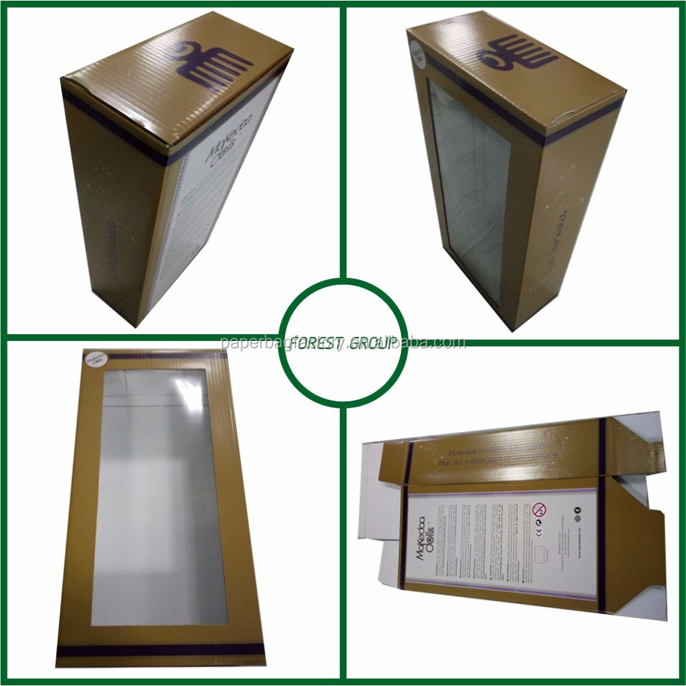 PVC packaging <strong>box</strong> gift doll paperboard <strong>box</strong> with clear PVC plastic window