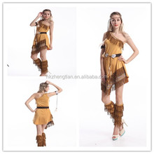 Nueva pocahontas native american indian costume s-2xl accesorios inc