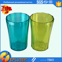 A good stock of 400ml hard plastic red solo cups tumbler cups personalized plastic party cups