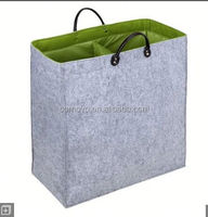 Large load grey felt foldable storage organizer supplier