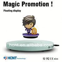 New invention 2013 !! Magnetic Floating pop display ,solar display stand