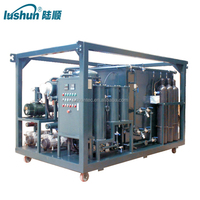 Lushun ZJA Fine Quality Double Stage Vacuum Transformer Oil Purification Machine
