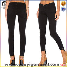 latest design jeans pants for girl just black women jeans skinny