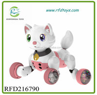 Made in China Lovely Electric Battery Cat Animal Toys Children Battery Intelligent Toys With Voice Control
