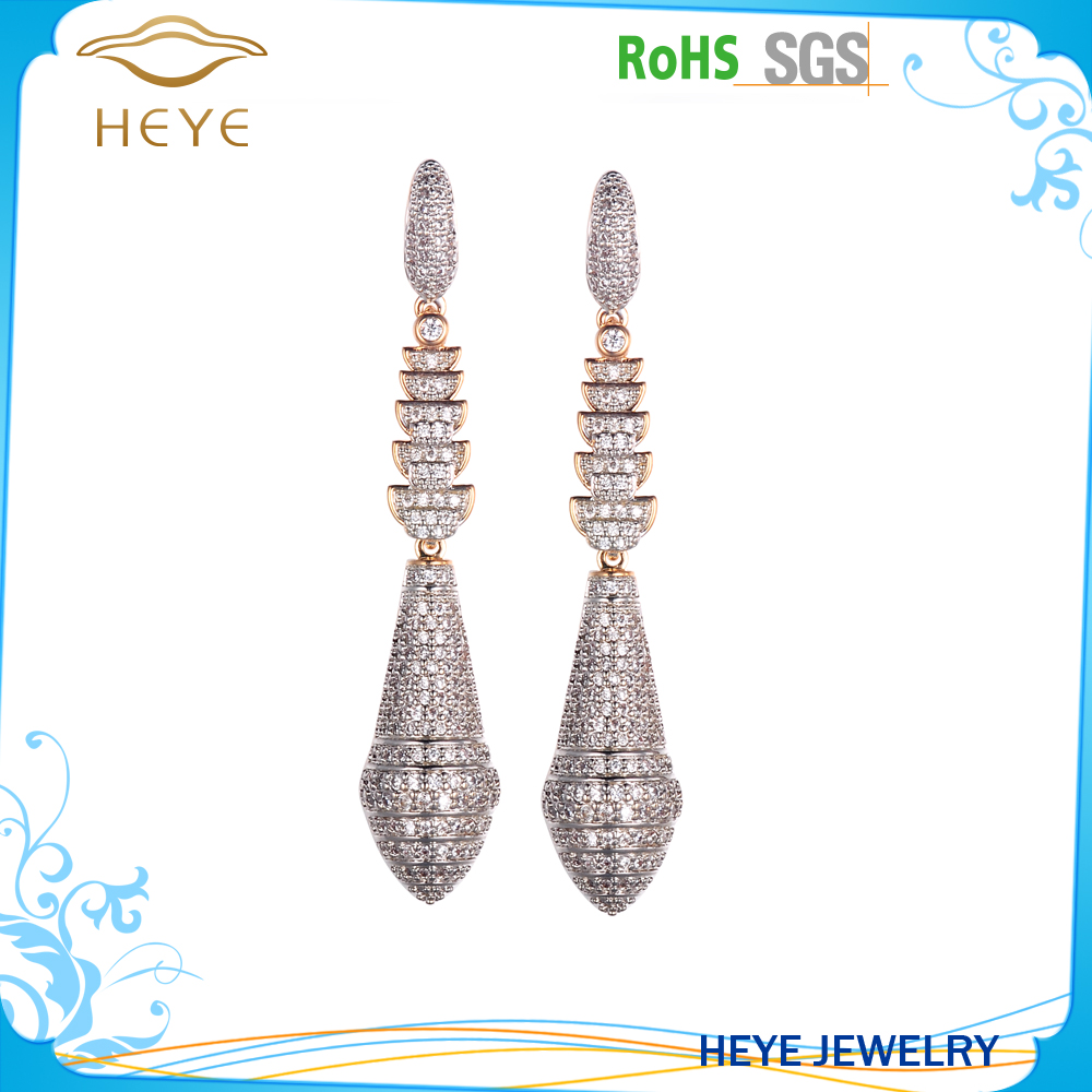 Top quality assured beautiful golden earring designs for women