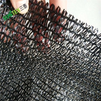 Malaysia hdpe agricultural black greenhouse sun shade netting/cloth/net for plant protection