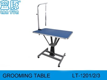 Master Equipment Hydraulic Grooming Table Rectangular