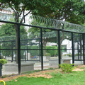 Good quality hot dipped galvanized safety fence