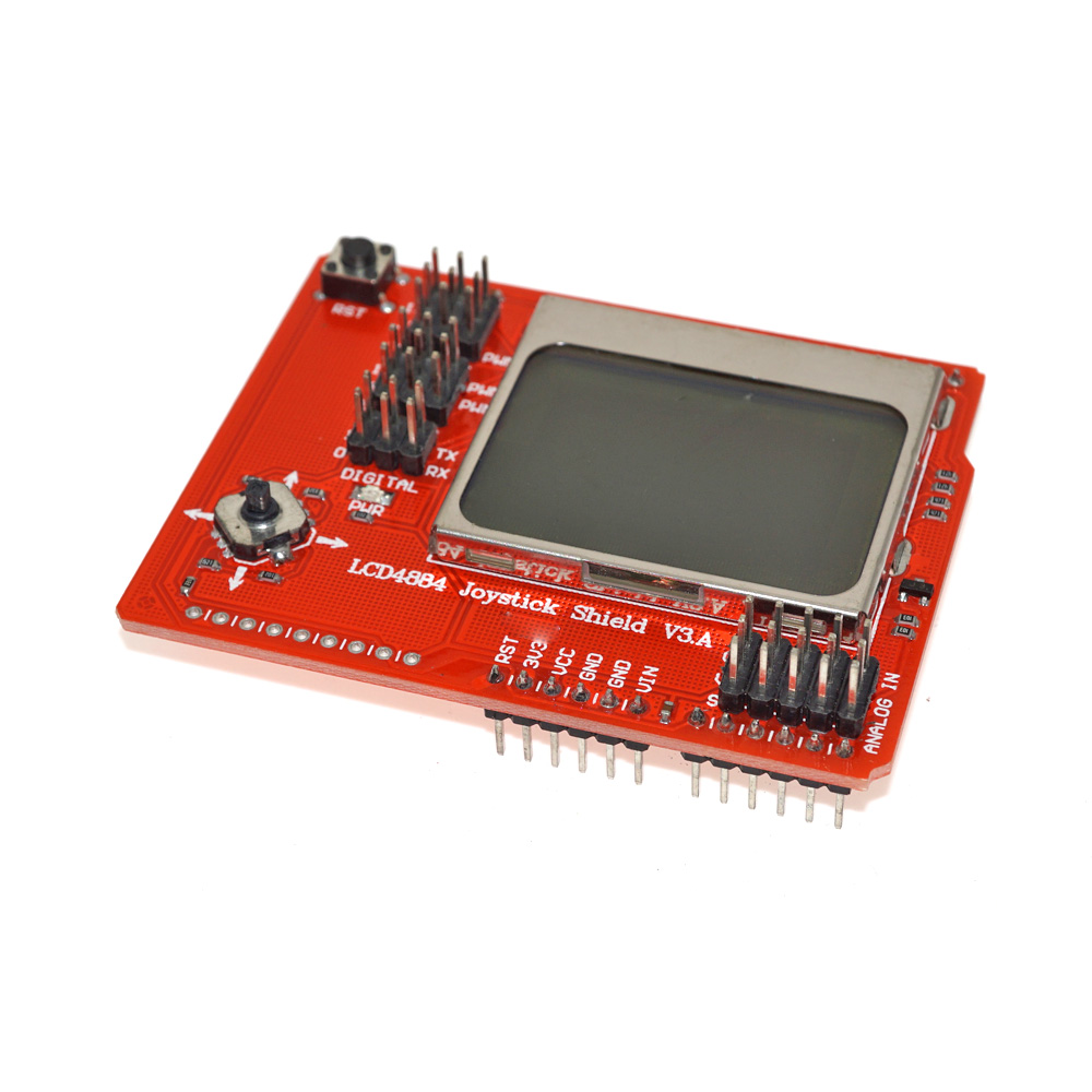 LCD4884 LCD <strong>Module</strong> Joystick Shield V2.0 Expansion Board Lcd Screen Display