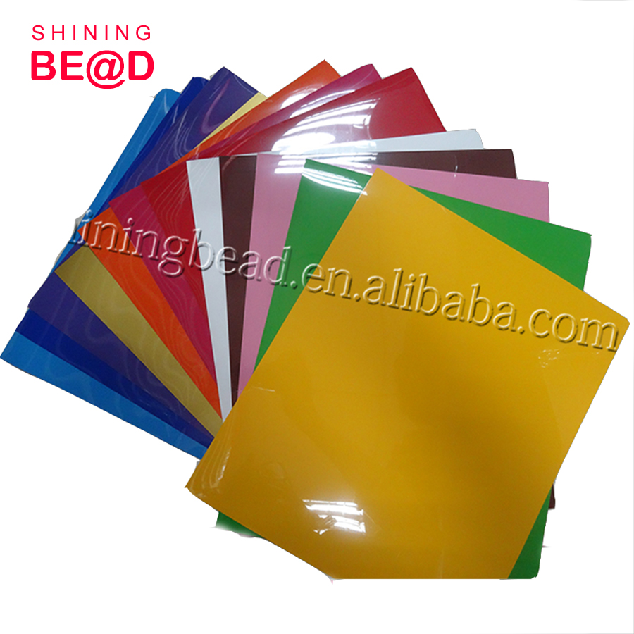 High Quality PU Heat Transfer Vinyl Sheets Heat Transfer Vinyl 12 sheets for T Shirts, Hats, Clothing for Heat Press Machine