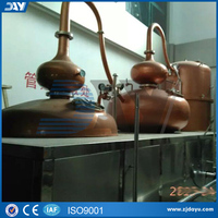 2016 Customized Copper pomace distillation for brandy wine making